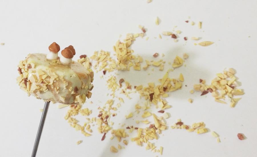 Посыпка на тортик из полимерной глины